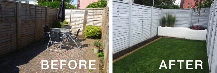 BEFORE & AFTER GARDEN